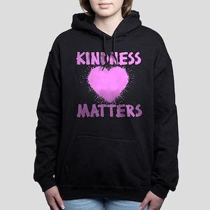 KINDNESS MATTERS Women's Hooded Sweatshirt