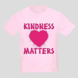 KINDNESS MATTERS Kids Light T-Shirt