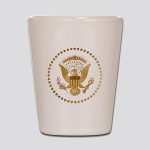 Gold Presidential Seal Shot Glass
