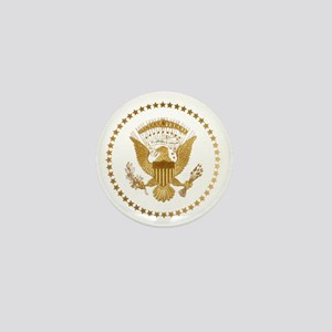 Gold Presidential Seal Mini Button