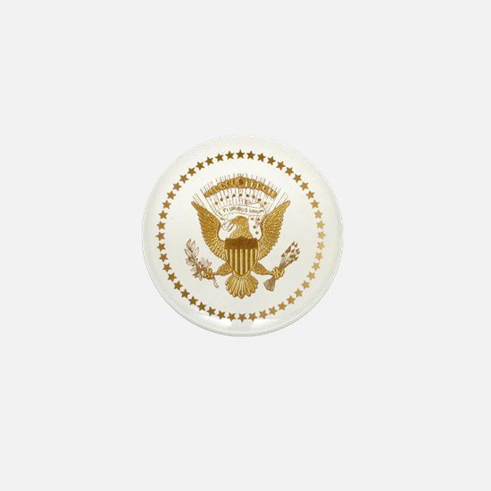 Gold Presidential Seal Mini Button