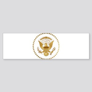 Gold Presidential Seal Sticker (Bumper)