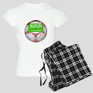 Saudi Arabia Soccer Ball Pajamas