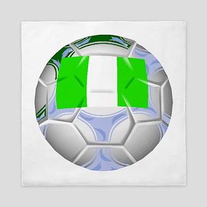 Nigeria Soccer Ball Queen Duvet