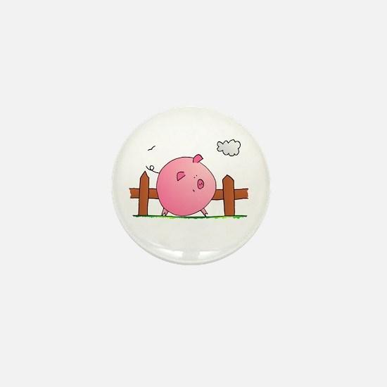 Piggy! Mini Button