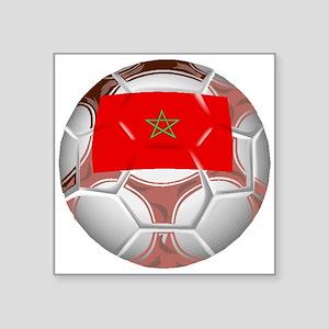 Morocco Soccer Ball Sticker