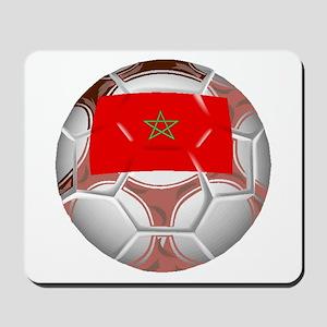 Morocco Soccer Ball Mousepad