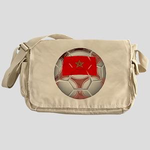 Morocco Soccer Ball Messenger Bag