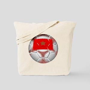 Morocco Soccer Ball Tote Bag