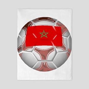 Morocco Soccer Ball Twin Duvet
