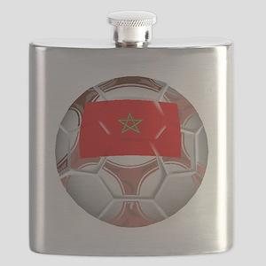 Morocco Soccer Ball Flask