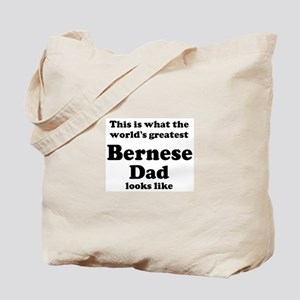 Bernese dad looks like Tote Bag