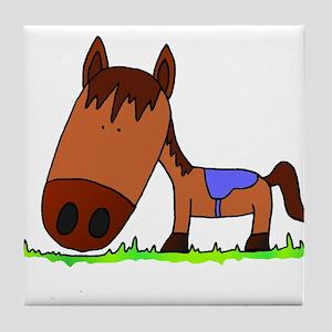 Horsey! Tile Coaster