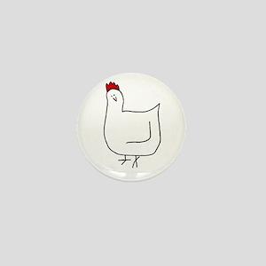 Hen Mini Button
