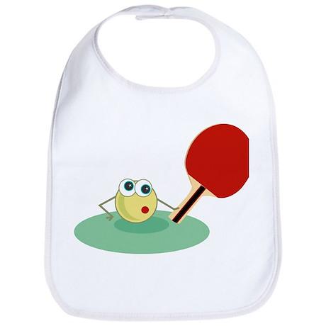 Table Tennis Baby Bib