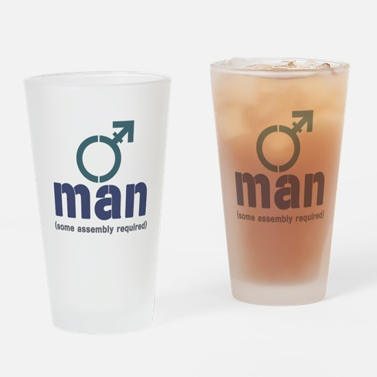 T-Man Assembly Drinking Glass