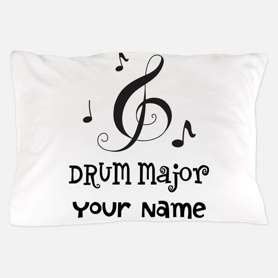 Drum Major Marching Band Pillow Case