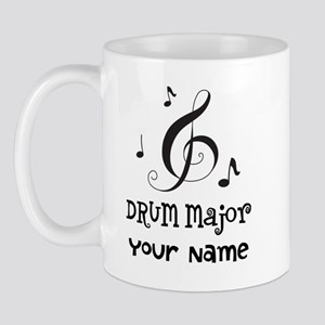 Drum Major Marching Band Mugs