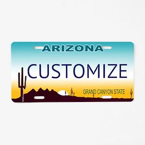 Arizona Custom Aluminum License Plate
