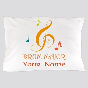 Personalized Drum Major Band Pillow Case