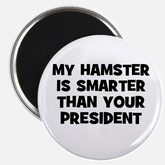 "my hamster is smarter than yo 2.25"" Magnet (10 pac"
