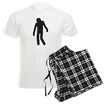 Zombie Pictogram Men's Light Pajamas
