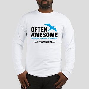 Often Awesome Logo Long Sleeve T-Shirt