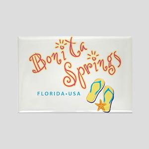 Bonita Springs - Rectangle Magnet