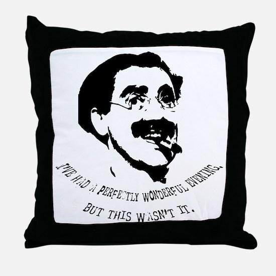 Cute Marx Throw Pillow