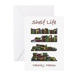 shelf life front cover Greeting Cards