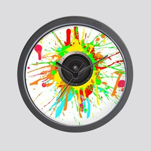 See The Music! Wall Clock
