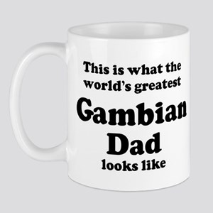Gambian dad looks like Mug