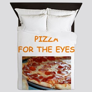 pizza Queen Duvet