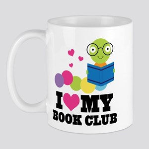 Book Club Bookworm Mug
