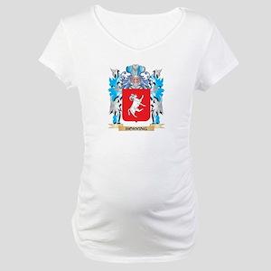 Horring Coat of Arms - Family Crest Maternity T-Sh