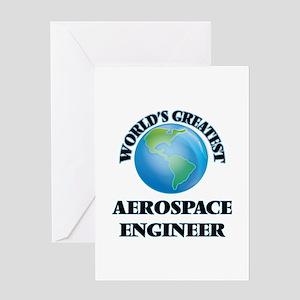 World's Greatest Aerospace Engineer Greeting Cards
