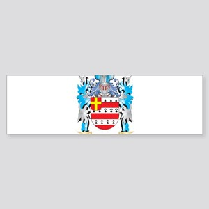 Hosey Coat of Arms - Family Crest Bumper Sticker