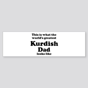 Kurdish dad looks like Bumper Sticker