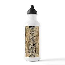 Pretty Poison Bottle Pattern Water Bottle