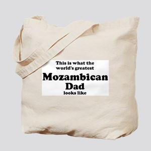 Mozambican dad looks like Tote Bag