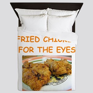 fried chicken lover Queen Duvet