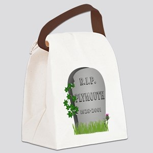 R.I.P. Plymouth Canvas Lunch Bag