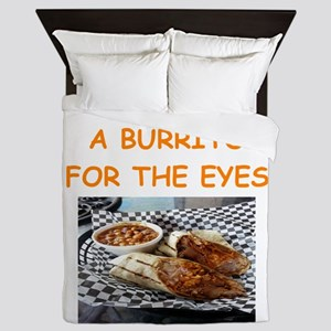burrito lover Queen Duvet