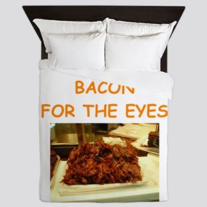 bacon Queen Duvet