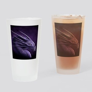 purple dragon Drinking Glass