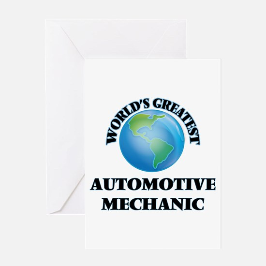 World's Greatest Automotive Mechanic Greeting Card