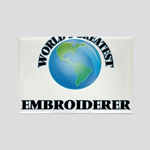 World's Greatest Embroiderer Magnets