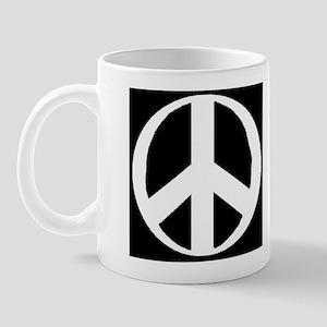 """""""Classic Peace Symbol"""" Mug"""