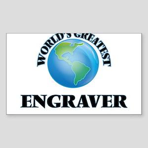 World's Greatest Engraver Sticker