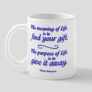 Meaning Of Life Mug Mugs